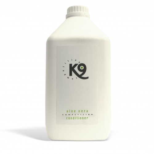 aloe vera conditioner k9 competition 2,7 lt - toelettatura cani