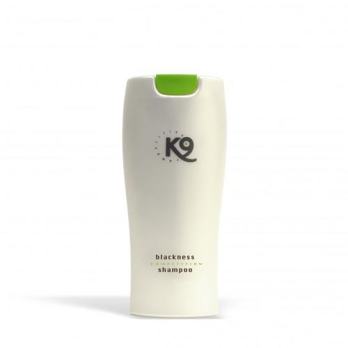 blackness shampoo k9 competition 300 ml - toelettatura cani, specifico per cani con il manto nero