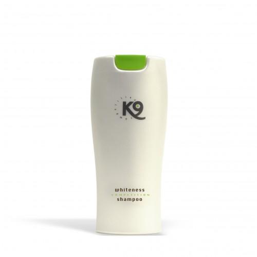 whiteness shampoo k9 competition 300 ml - toelettatura cani, specifico per cani con il manto bianco
