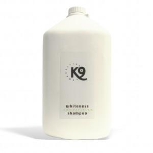 whiteness shampoo k9 competition 5,7 lt - toelettatura cani, specifico per cani con il manto bianco