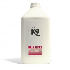 keratin coat repair moisturizer - 2,7 lt - k9 competition - toelettatura cani