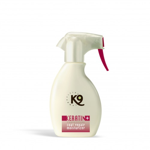 keratin coat repair moisturizer - 250 ml - k9 competition - toelettatura cani