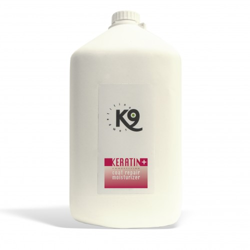 keratin coat repair moisturizer - 5,7 lt - k9 competition - toelettatura cani