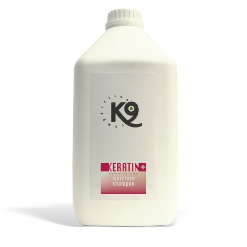 keratin moisture shampoo - 2,7 lt - k9 competition - toelettatura cani