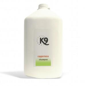 Copperness shampoo k9 competition 5,7 ml - toelettatura cani, neutralizza, decolorando, e tira fuori il colore rosso-marrone naturale del pelo
