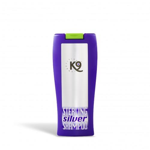 sterling silver shampoo k9 competition 300 ml - shampoo a effetto sbiancante con pulizia superiore