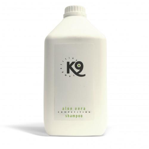 aloe vera shampoo k9 competition 2,7 lt - toelettatura cani