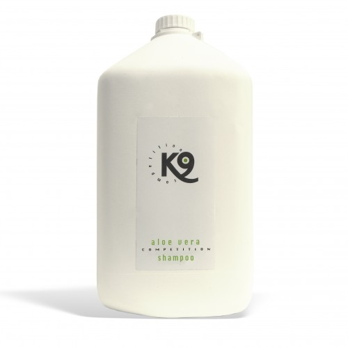 aloe vera shampoo k9 competition 5,7 lt - toelettatura cani