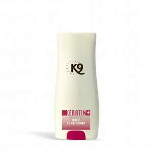 keratin moist conditioner - 300 ml - k9 competition - toelettatura cani