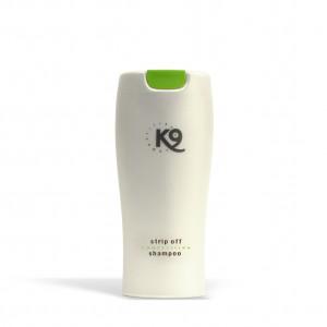 stripp off shampoo - 300 ml - k9 competition - libero pelo e manto cane da accumuli e residui