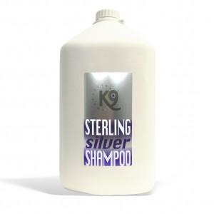 sterling silver shampoo k9 competition 5,7 lt - shampoo a effetto sbiancante con pulizia superiore